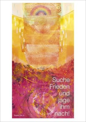 Jahreslosung 2019 Postkarten 10er Serie Habedank