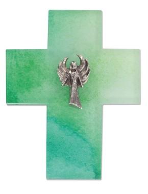 Glaskreuz Engel