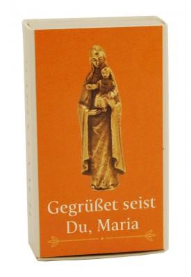 Figur Madonna mit Kind, in Schachtel Gegrüßet seist du, Maria