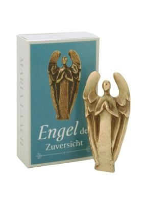 Figur Engel der Zuversicht, in Schachtel