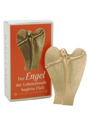 Figur Der Engel der Lebensfreude begleite dich, in Schachtel