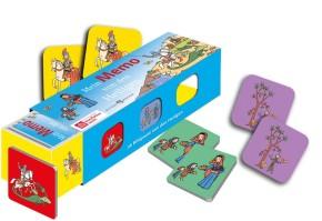 Mein Memo von den Heiligen - Kartenlegespiel mit 36 Bildpaaren