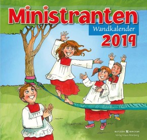 Ministranten-Wandkalender 2019