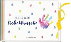 Zur Geburt liebe Wünsche – Geldkuvert-Geschenkbuch zur Ankunft eines Babys