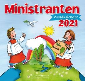 Ministranten-Wandkalender 2021