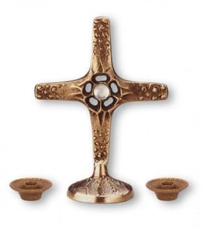 Kreuzgarnitur aus Bronze - Größe 12 cm / 5 cm