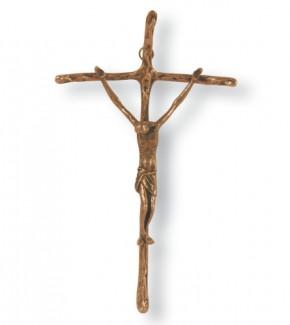 Papstkreuz Bronze 27 cm