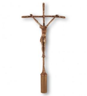 Vortragekreuz Bronze - Größe 48 cm
